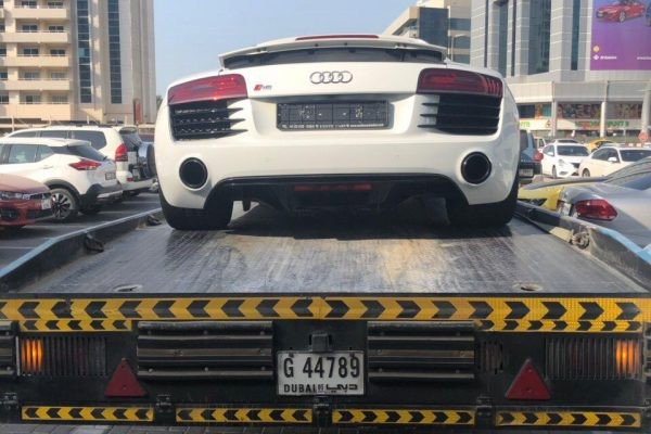 Audi Towing in Dubai | Emirates Towing